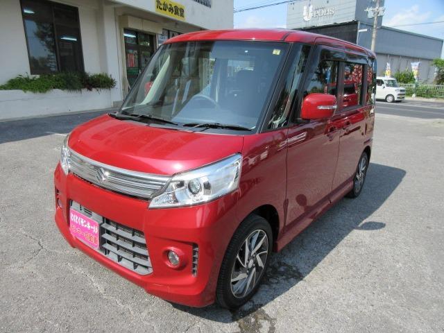 沖縄県の中古車ならスペーシアカスタム XS 純正アルミ パワースライドドア Wエアバック ABS パワーステアリング パワーウィンドウ