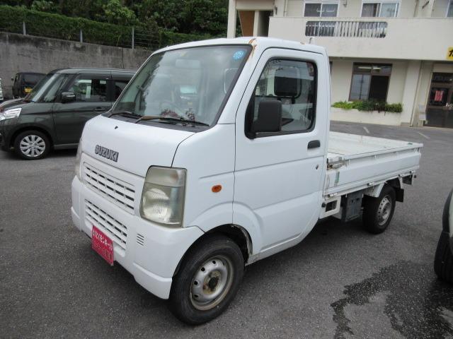 沖縄の中古車 スズキ キャリイトラック 車両価格 39万円 リ済込 2008(平成20)年 10.1万km ホワイト