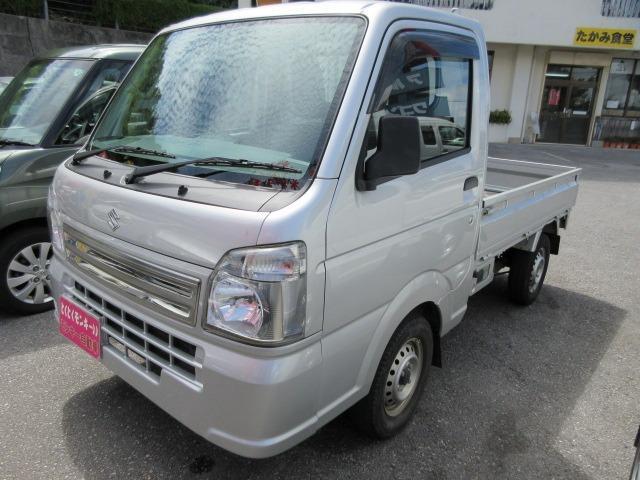 沖縄県沖縄市の中古車ならキャリイトラック KCエアコン・パワステ パワーステアリング エアバック エアコン
