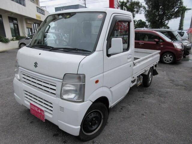 沖縄県の中古車ならキャリイトラック KCエアコン・パワステ パワーステアリング エアコン