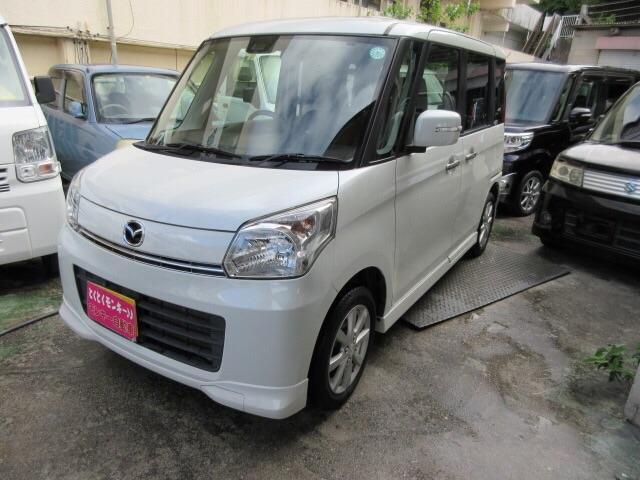 沖縄県の中古車ならフレアワゴン XSリミテッド パワースライドドア Wエアバック ABS パワーステアリング パワーウィンドウ