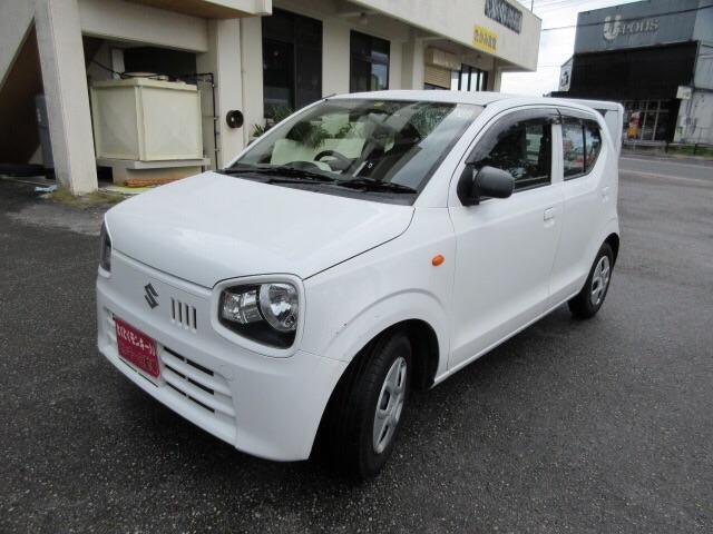 沖縄の中古車 スズキ アルト 車両価格 35万円 リ済込 2016(平成28)年 9.3万km ホワイト