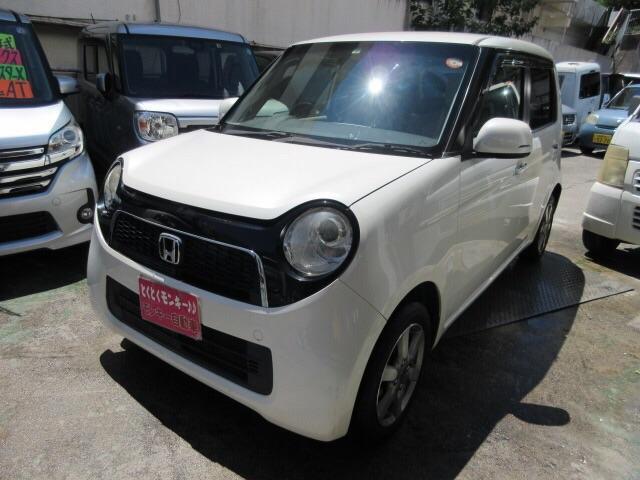 沖縄の中古車 ホンダ N-ONE 車両価格 53万円 リ済込 2013(平成25)年 8.6万km パール