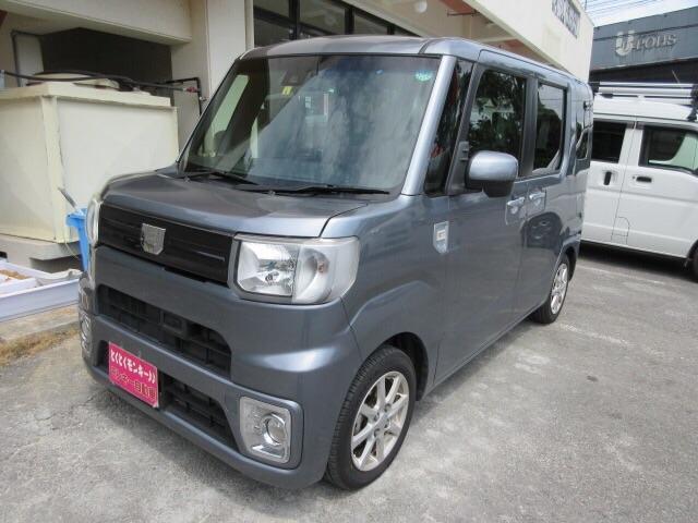 沖縄県の中古車ならウェイク L SAII 社外ナビ Wエアバック バックカメラ パワーステアリング ABS パワーウィンドウ
