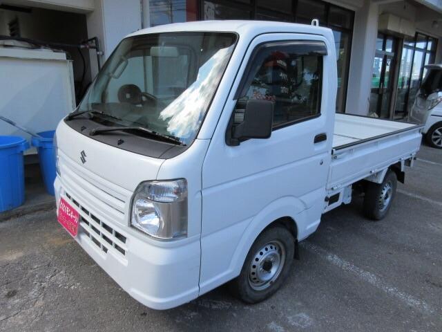 沖縄県の中古車ならキャリイトラック KCエアコン・パワステ パワステ・Wエアバッグ・4WD