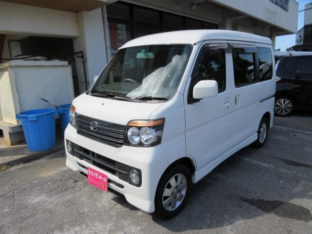沖縄の中古車 ダイハツ アトレーワゴン 車両価格 49万円 リ済込 2011(平成23)年 9.2万km ホワイト