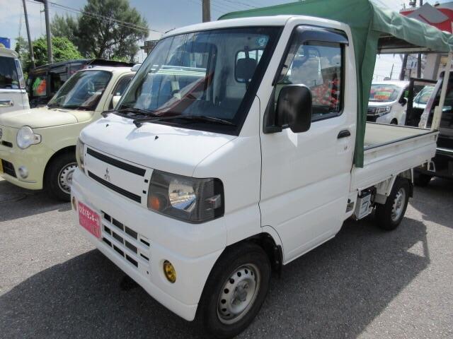 沖縄の中古車 三菱 ミニキャブトラック 車両価格 48万円 リ済込 2010(平成22)年 11.3万km ホワイト