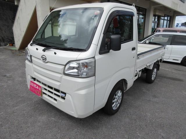 沖縄県沖縄市の中古車ならハイゼットトラック  4WD 社外アルミ パワーステアリング