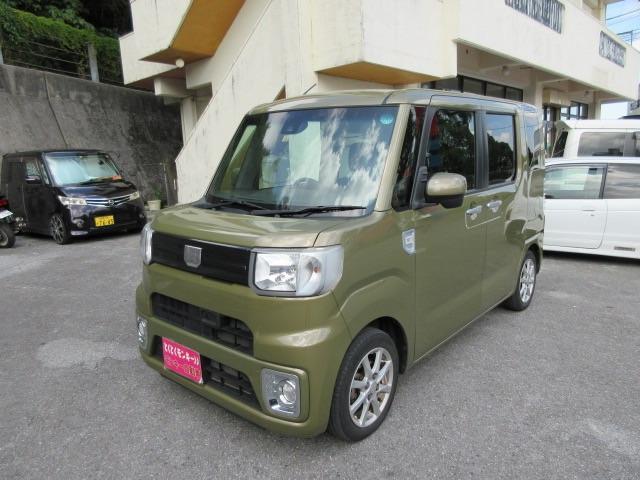 沖縄県の中古車ならウェイク L SAII パワーステアリング Wエアバック パワーウィンドウ ABS