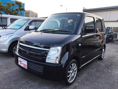 沖縄の中古車 スズキ ワゴンR 車両価格 38万円 リ済込 平成20年 3.3万K ブラック