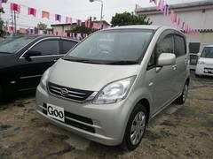 沖縄の中古車 ダイハツ ムーヴ 車両価格 29万円 リ済込 平成21年 7.9万K シャンパンゴールド