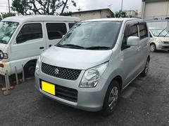 沖縄の中古車 スズキ ワゴンR 車両価格 32万円 リ済込 平成22年 6.5万K シルバー
