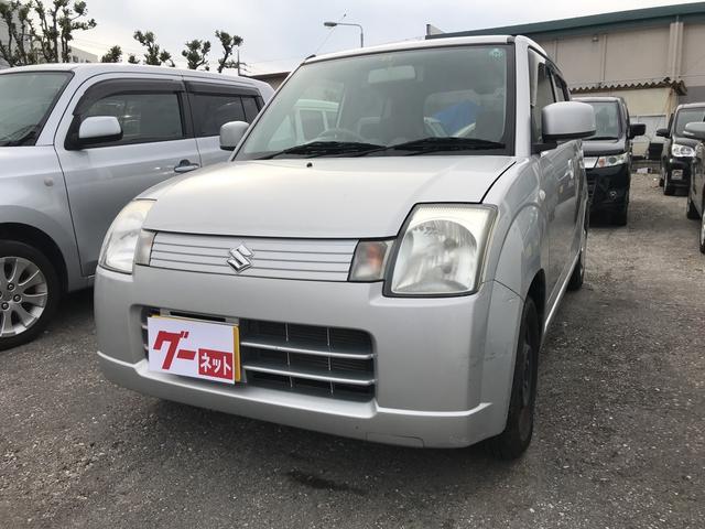 沖縄の中古車 スズキ アルト 車両価格 15万円 リ済込 2009(平成21)年 8.0万km シルバー