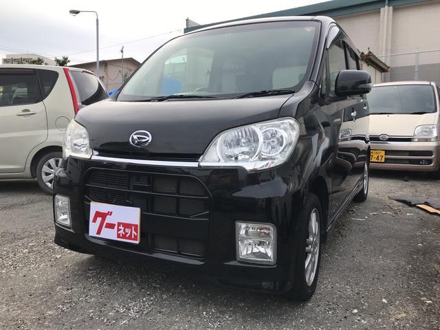 沖縄の中古車 ダイハツ タントエグゼ 車両価格 52万円 リ済込 平成22年 6.9万km ブラックM
