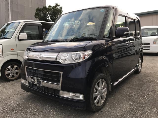 沖縄の中古車 ダイハツ タント 車両価格 39万円 リ済込 年式不明 13.5万km 紺M