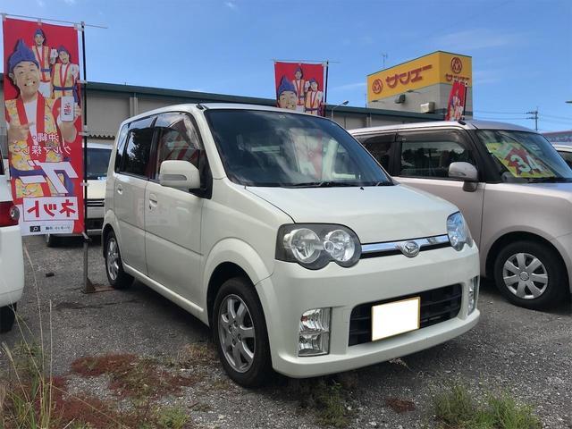 沖縄の中古車 ダイハツ ムーヴ 車両価格 12万円 リ済込 2005(平成17)年 14.2万km ホワイト