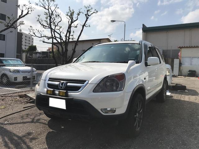 沖縄の中古車 ホンダ CR-V 車両価格 19万円 リ済込 2001(平成13)年 14.3万km パール