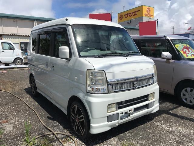 沖縄の中古車 スズキ エブリイワゴン 車両価格 60万円 リ済込 2009(平成21)年 5.6万km パール