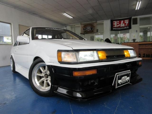 沖縄県の中古車ならカローラレビン GT APEX後期 20バルブアネックスコンプリートエンジン