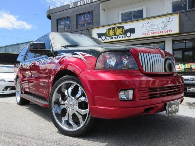 沖縄県の中古車ならリンカーンナビゲーター アルティメイト ShowCar仕様 ワンオフサウンドカスタム