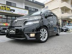 沖縄の中古車 トヨタ ヴェルファイア 車両価格 139万円 リ済別 平成20年 10.7万K ブラック