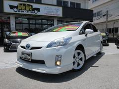 沖縄の中古車 トヨタ プリウス 車両価格 95万円 リ済込 平成22年 9.1万K パール