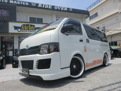沖縄の中古車 トヨタ ハイエースバン 車両価格 139万円 リ済別 平成18年 13.9万K ホワイト