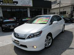 沖縄の中古車 レクサス HS 車両価格 129万円 リ済込 平成22年 6.8万K パール