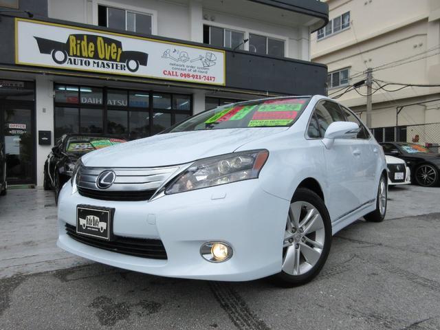 沖縄の中古車 レクサス HS 車両価格 129万円 リ済別 平成21年 8.9万km パール