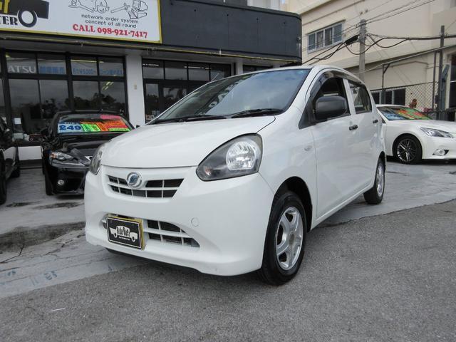沖縄の中古車 ダイハツ ミライース 車両価格 23万円 リ済込 平成23年 9.2万km ホワイト