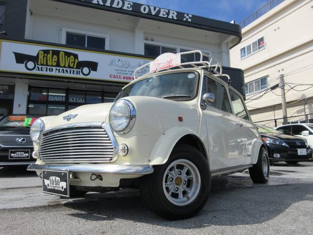 沖縄の中古車 ローバー ローバー MINI 車両価格 109万円 リ済込 1999(平成11)年 9.5万km ホワイトII
