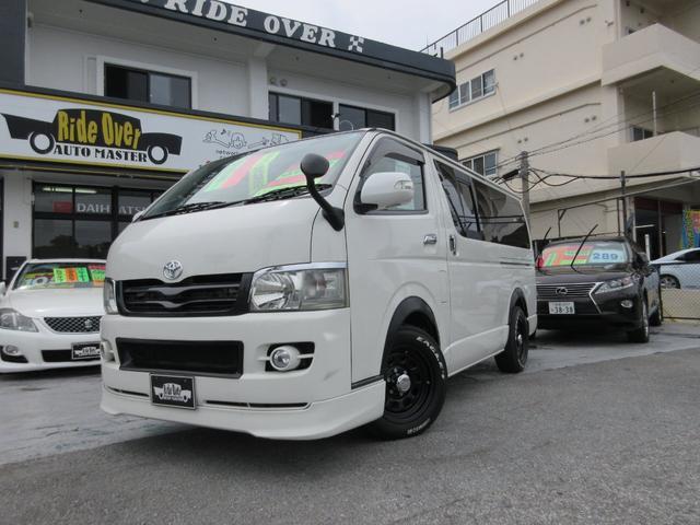 沖縄県の中古車ならレジアスエースバン ロングスーパーGL ワンオーナー Fハーフ タイベル交換済み