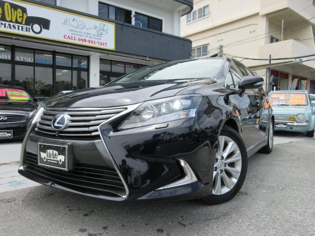 沖縄の中古車 レクサス HS 車両価格 165万円 リ済別 2013(平成25)後 9.3万km ブラック