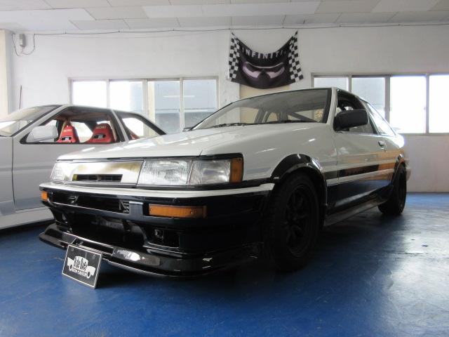 沖縄県の中古車ならカローラレビン GT APEXハイコンプEG 4スロ HKSカム タコ足