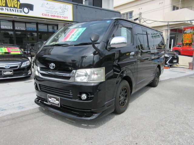 沖縄の中古車 トヨタ レジアスエースバン 車両価格 109万円 リ済込 2009(平成21)年 19.2万km ブラックM