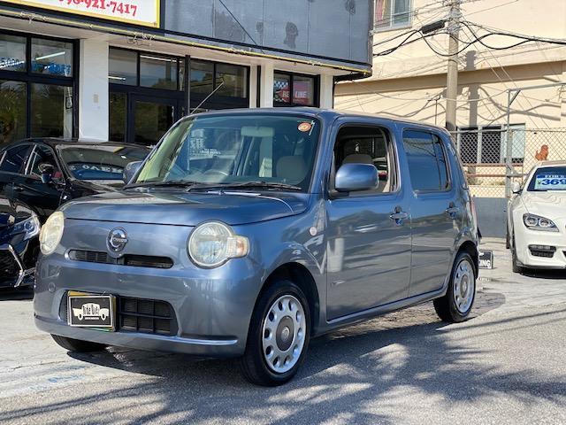 沖縄の中古車 ダイハツ ミラココア 車両価格 33万円 リ済別 2010(平成22)年 10.4万km グレーM