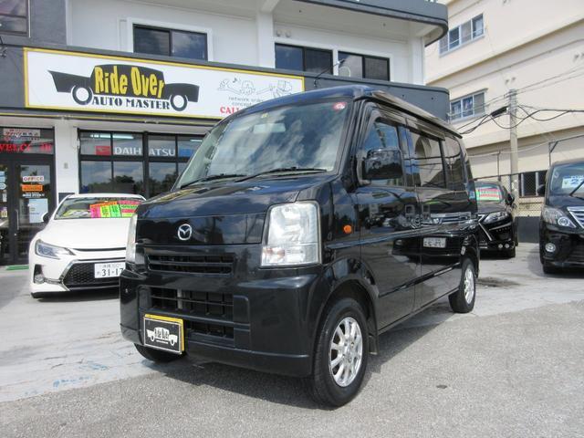 沖縄の中古車 マツダ スクラム 車両価格 39万円 リ済込 2009(平成21)年 8.0万km ブラック