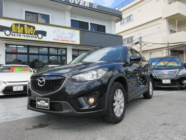 沖縄の中古車 マツダ CX-5 車両価格 119万円 リ済込 2012(平成24)年 8.3万km ブラック