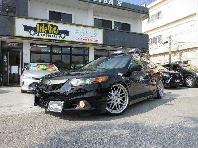沖縄県の中古車ならアコードツアラー 24TL スポーツスタイル ACURA TSX フルUS仕様