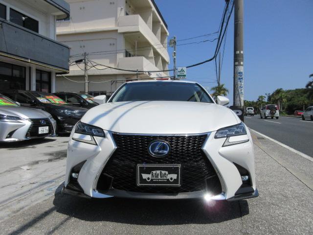 沖縄県の中古車ならGS GS300h IFSPORT仕様3眼LEDライト 19アルミ
