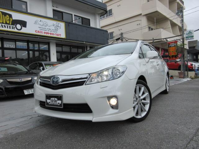 沖縄の中古車 トヨタ SAI 車両価格 98万円 リ済込 2011(平成23)年 4.9万km パール