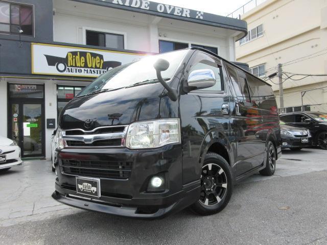 沖縄の中古車 トヨタ レジアスエースバン 車両価格 169万円 リ済込 2011(平成23)年 19.1万km ブラックM