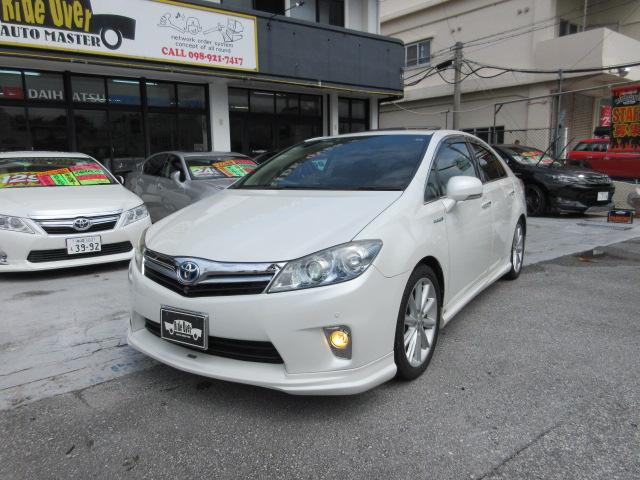 沖縄の中古車 トヨタ SAI 車両価格 89万円 リ済別 2011(平成23)年 7.3万km パール