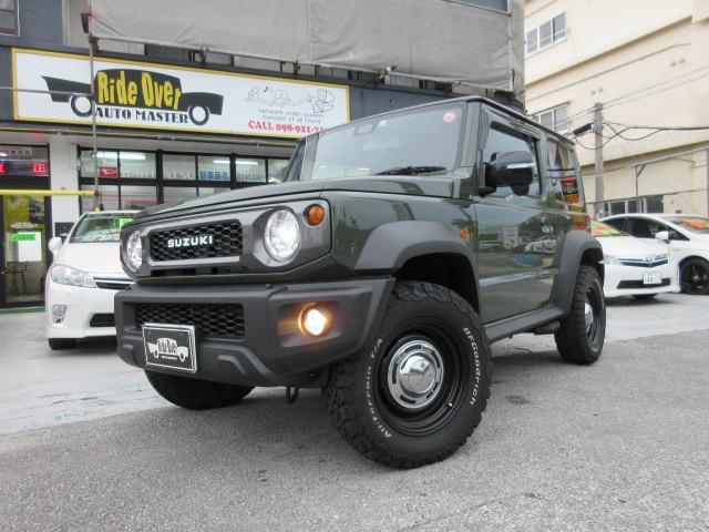 沖縄県の中古車ならジムニーシエラ JCセーフティサポート装着車 新品16アルミ リアキャリア