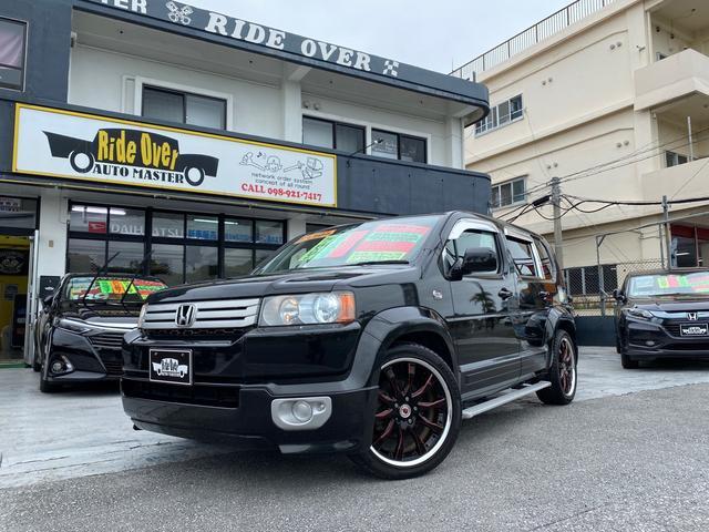 沖縄の中古車 ホンダ クロスロード 車両価格 69万円 リ済込 2007(平成19)年 9.6万km ブラック