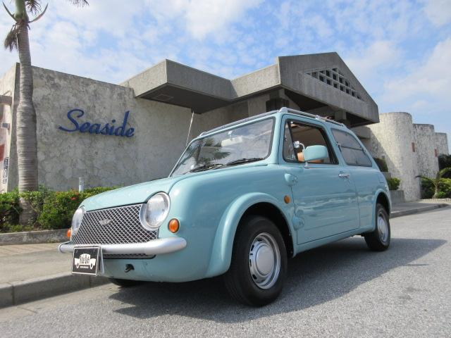 沖縄の中古車 日産 パオ 車両価格 119万円 リ済込 1989(平成1)年 10.6万km ライトブルー