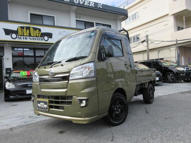 沖縄の中古車 ダイハツ ハイゼットトラック 車両価格 129万円 リ済込 2020(令和2)年 0.3万km オフビートカーキ
