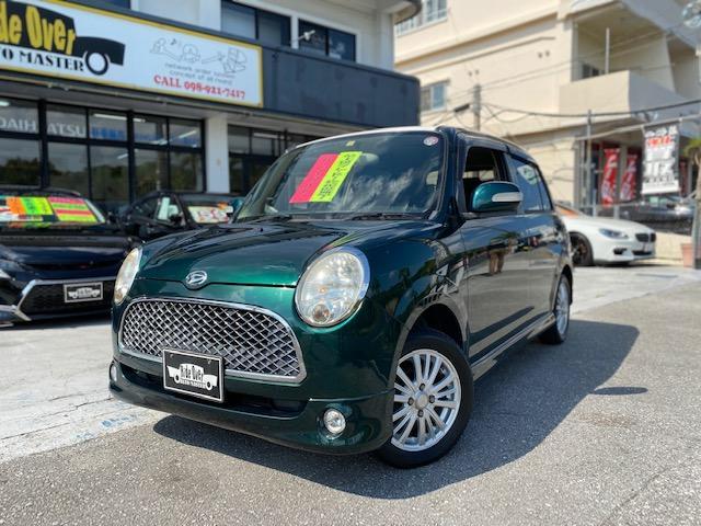 沖縄の中古車 ダイハツ ミラジーノ 車両価格 45万円 リ済込 2006(平成18)後 8.1万km DグリーンM