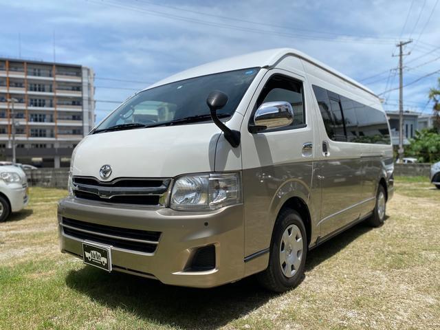 沖縄の中古車 トヨタ ハイエースワゴン 車両価格 209万円 リ済込 2013(平成25)年 14.4万km パールII