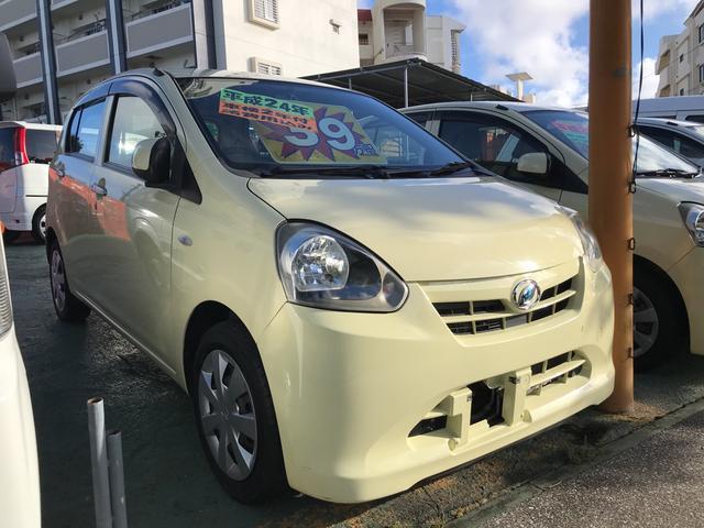 沖縄県の中古車ならミライース L キーレス アイドリングストップ